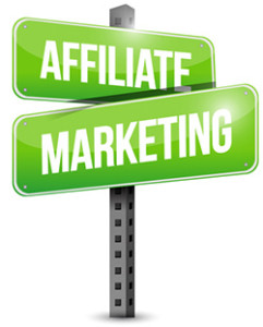 affiliate marketing sign illustration design